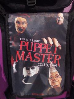 Mochilas De Terror Puppet Master Full Moon Charles Band