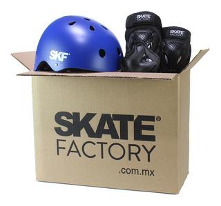 Kit Protecciones Completo Para Patinaje Y Skate