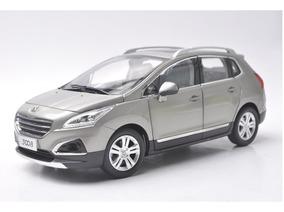 Miniatura Carro Peugeot 3008 Cinza 1:18 Paudi 1090068