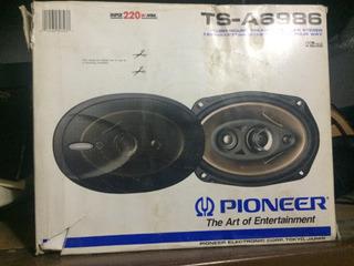 Cornetas Originales Pioneer (japon), Modelo Ts-a6986, 4 Vías