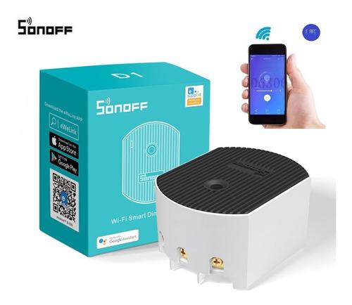 D1 Sonoff Domotica Smart Dimmer Suiche Atenuador Celular