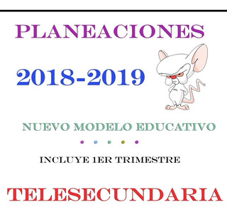 Planeaciones Telesecundaria Actualizadas 3x1