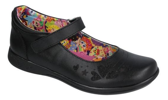 Zapato Escolar En Piel Marca Distroller Modelo Chamoy