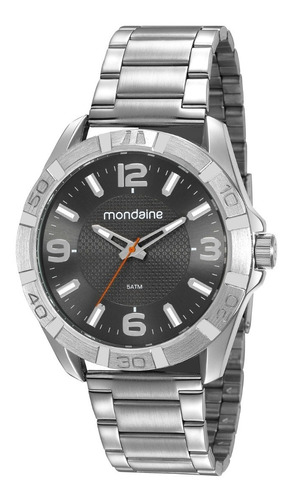 Relógio Masculino Mondaine Original Aço Inox 53830g0mvne2