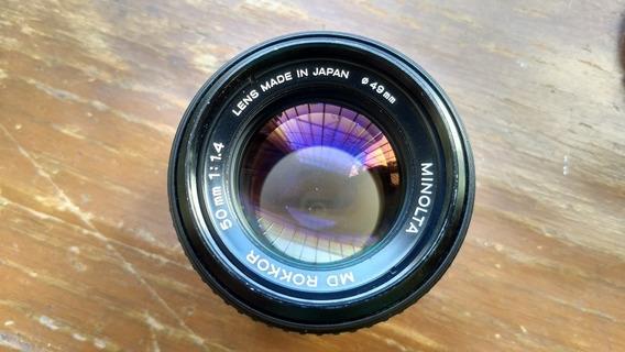 Lente Minolta Md Rokkor F1.4 Para Nikon