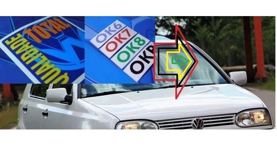 Qualidad Parabrisa Vw Ford Vidro Adesivo Selos Carro Zero Km