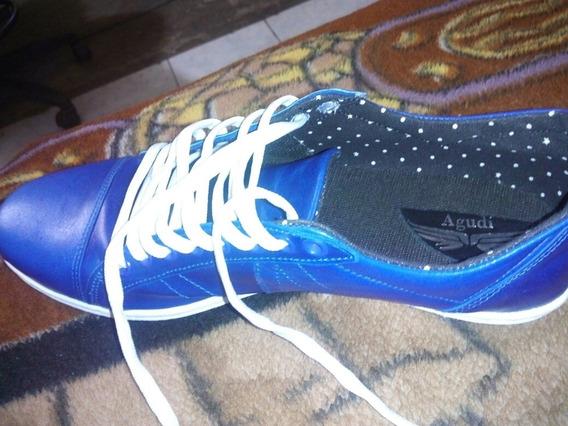 Zapatillas Agudi De Cuero $1250