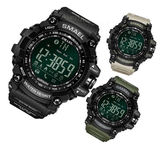 Relógio Smael 1617 Bluetooth Prova D´água