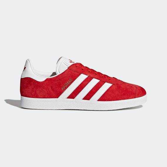 Tenis adidas Gazelle Rojos Originales En Caja