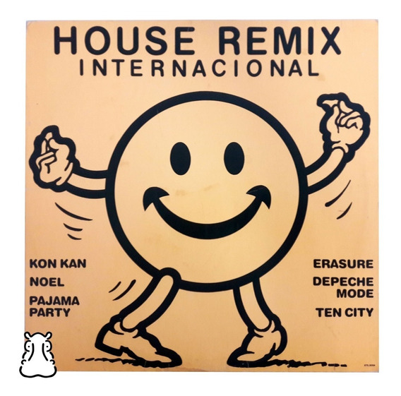 Lp House Remix Internacional Vinil 1989 Kon Kan Erasure Noel