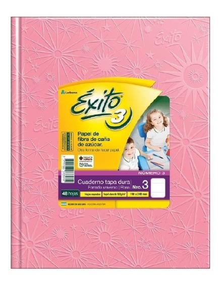 Cuaderno Exito Universo 3 Abc Rosa 19 X 24 Cm 100 Hojas