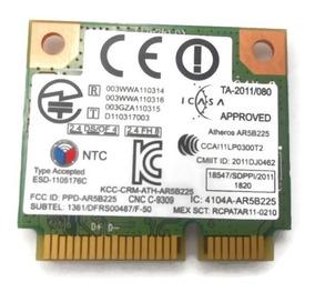 Ar5b225 Placa Wifi + Bt P/ Samsung Rv411 R440 Windows10 Mi