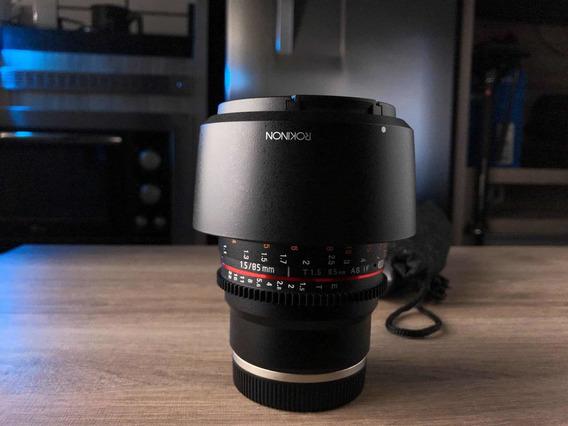 Lente Rokinon 85mm T1.5 Sony