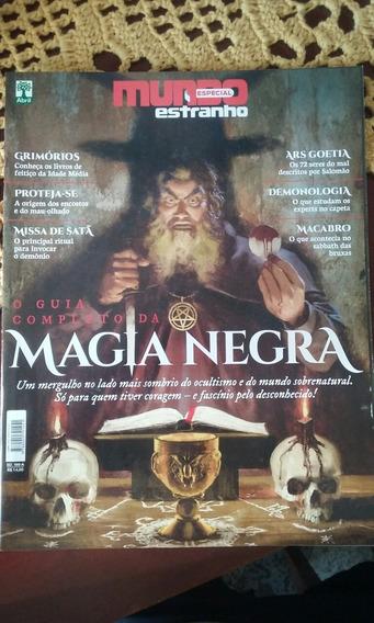 Revista O Guia Completo Da Magia Negra Mundo Estranho