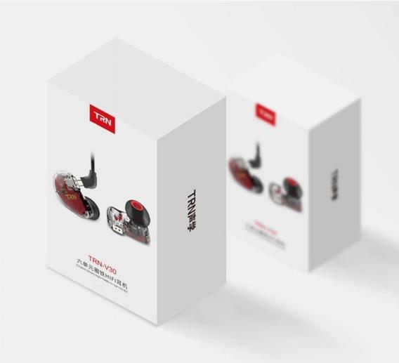 Promoção Fone In Ear Trn V30 6 Drivers Retorno De Palco