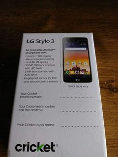 LG Stylo 3 **envio Gratis**