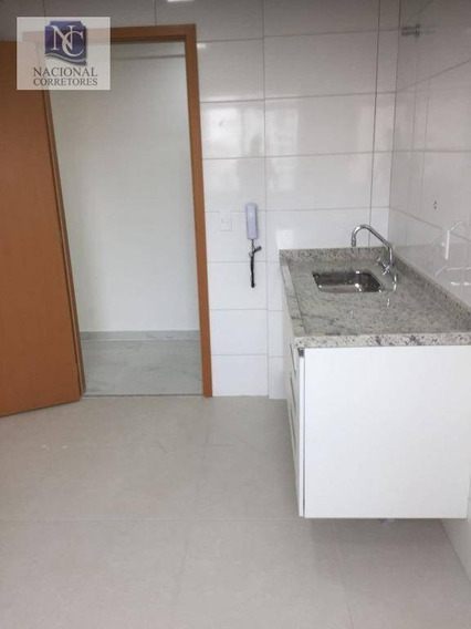 Apartamento Com 2 Dormitórios Para Alugar, 80 M² Por R$ 1.900,00/mês - Centro - Santo André/sp - Ap6617