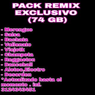 Pack Remix Dj Crossover 2019