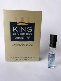 Amostra Perf Antonio Banderas King Of Seduction Absolute 1,5