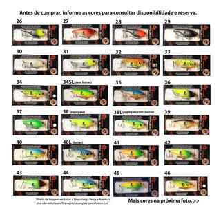 Kit 10 Iscas Artificiais Papa Black P/ Dourado - Promoção