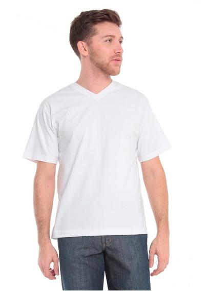 T-shirt Manga Corta Modelo Escote V Howard