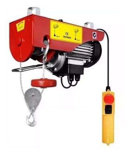 Tecle Elevador Eléctrico 500 Kilos 110 Voltios