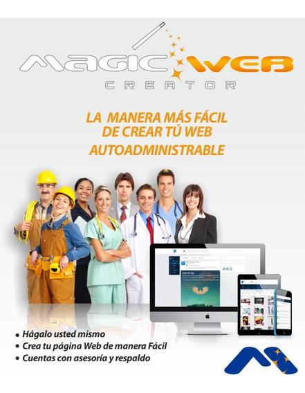 Crea Tu Propia Pagina Web Con Nosotros Facil Y Rapido Mwc