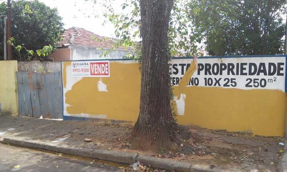 Terreno À Venda, 250 M²- Jardim Utinga - Santo André/ Sp - 46545