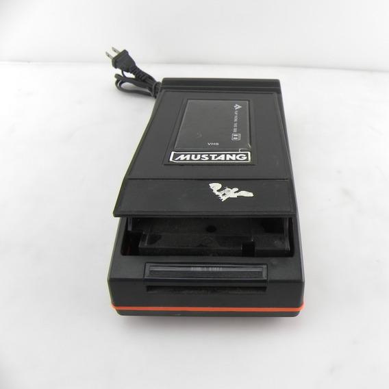 Rebobinador De Fita Vhs Mustang -basf-tdk- Usado Com Defeito