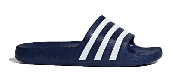 Ojotas adidas Natacion Adilette Aqua Azul O Negro Abc Deport