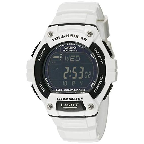 Casio Reloj W-s220c-7bvcf Blanco Para Hombre