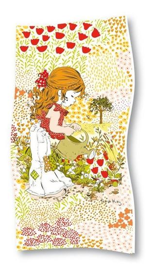 Toallón Playero Sarah Kay Casablanca - Jardin