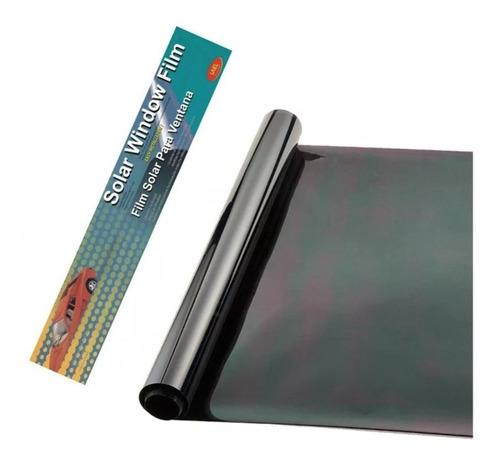Polarizado Auto Film Lamina Rollo 1 X 3mts Tono Espejado