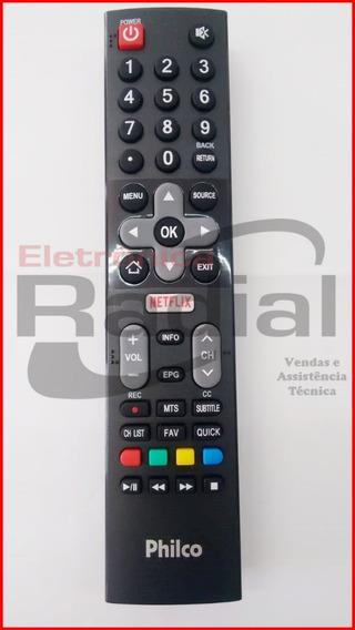 Controle Remoto Tv Philco Original Com Netflix