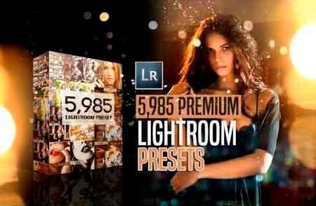 Pacotão De 5.985 Presets Premium Para Lightroom