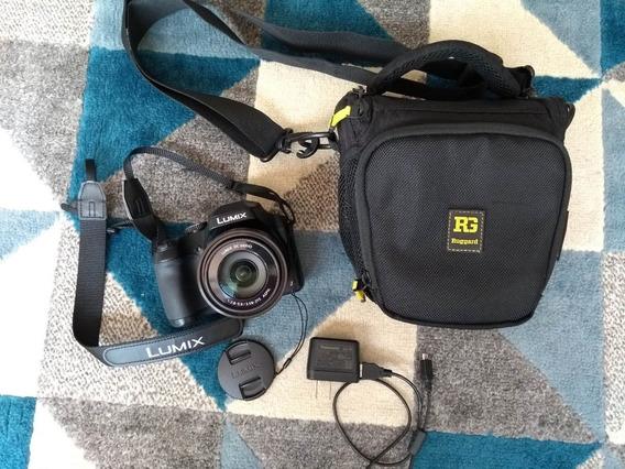 Camera Dslr Panasonic Lumix Dc-fz80 Na Garantia E Com Bolsa