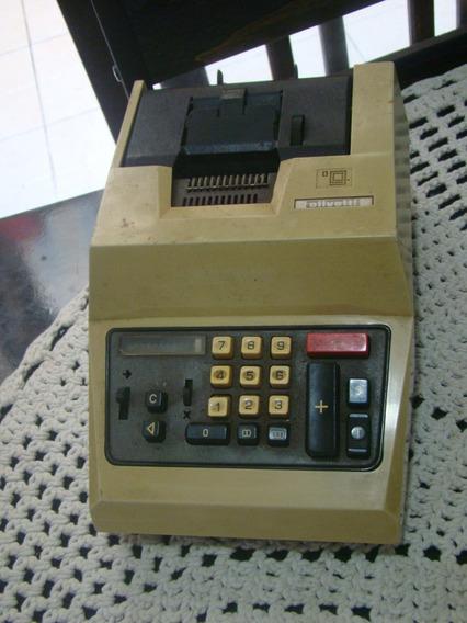 Calculadora Olivetti Elettrossuma S20 - Não Funciona