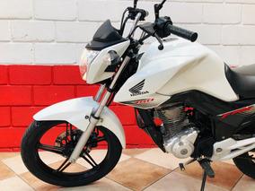 Honda Cg 160 Fan - 2018 - Branca - Km 23.900 - Financiamos