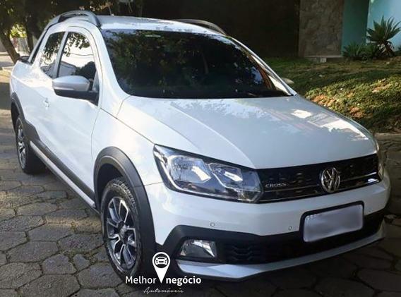 Volkswagen Saveiro Cross 1.6 Cd T. Flex 2017 Branca