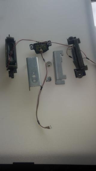 Kit 2 Altfalants+sensor+suprte Parede Tv Panasonictc-32a400b