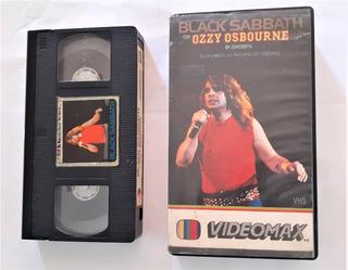Black Sabbath Live! Vhs Pelicula Rock Metal Musica Usado