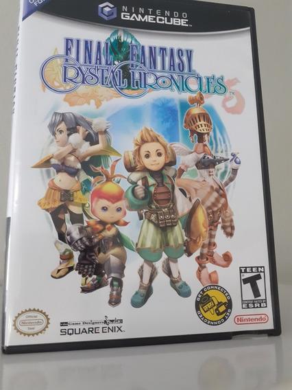 Jogo Final Fantasy: Crystal Chronicles Para Gamecube