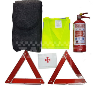 Kit Emergencia De Automovil Set De Seguridad Extintor