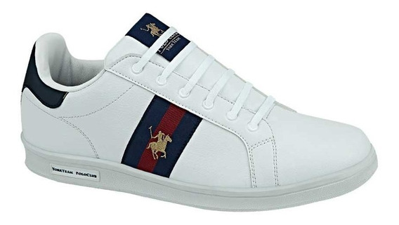 Tenis Casual Polo Club 9424 D829768 Blanco Para Hombre Msi