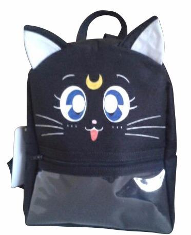 Mochila Infantil Tecido, Gato, Minnie, Mickey - Todas Cores