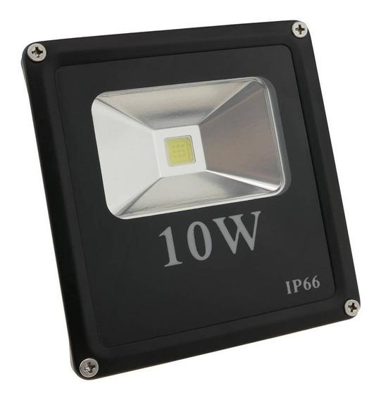 Reflector Led 10w Lampara Luz Blanca 6000k Multivoltaje 096