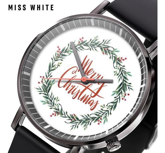 Quente Nova Grinalda De Natal Caixa De Presente Relógio Casu