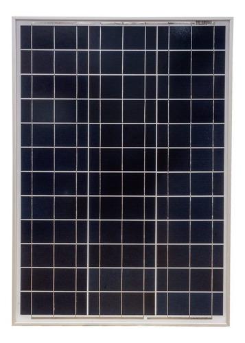 Painel Placa Solar Fotovoltaica 50w Watts Padrão 12v Komaes