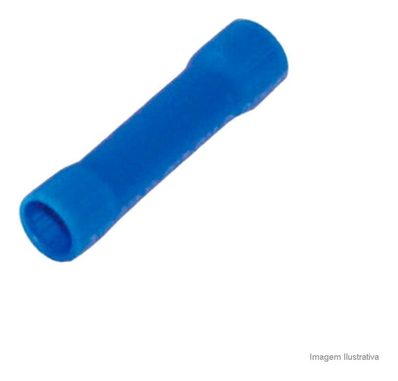 Luva De Emenda 27a Para Fio De 1,5 A 2,5mm Com 20 Unidades Azul A.santos A.santos