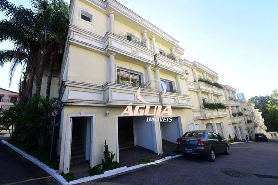 Sobrado Com 4 Dormitórios À Venda, 279 M² Por R$ 960.000,00 - Vila Eldízia - Santo André/sp - So1287
